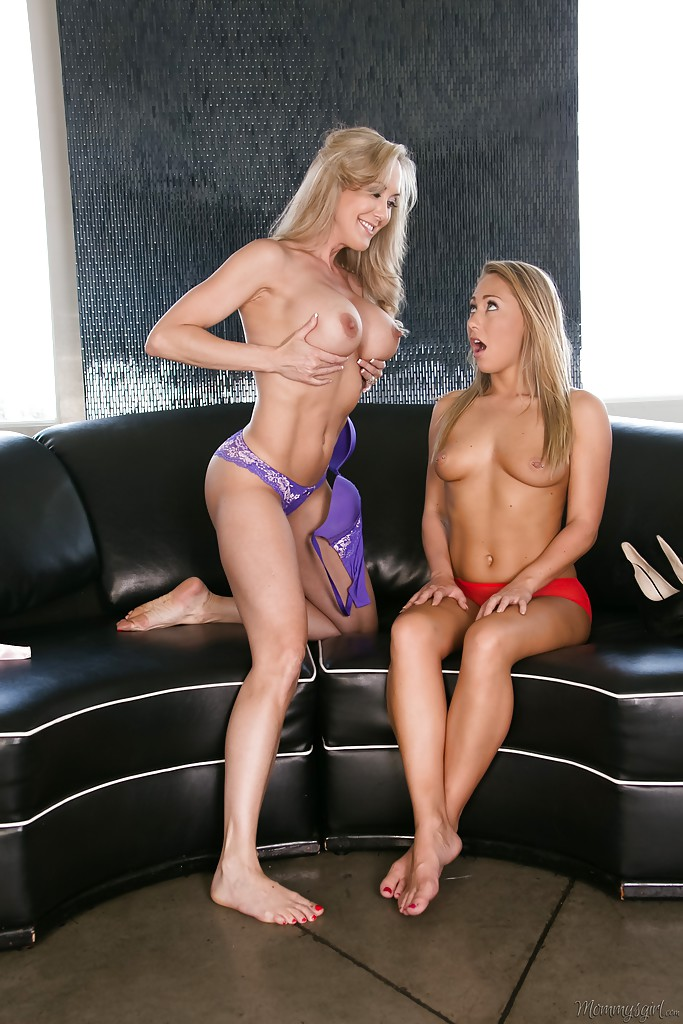 Brandi love and carter cruise at mommy girl photo 1
