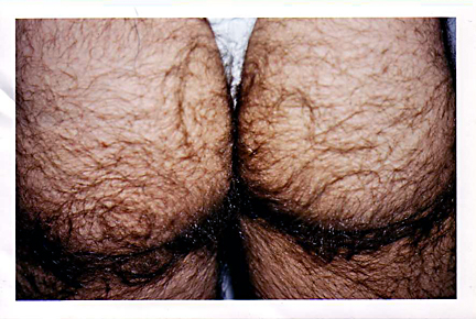 Hairy male ass photo 1