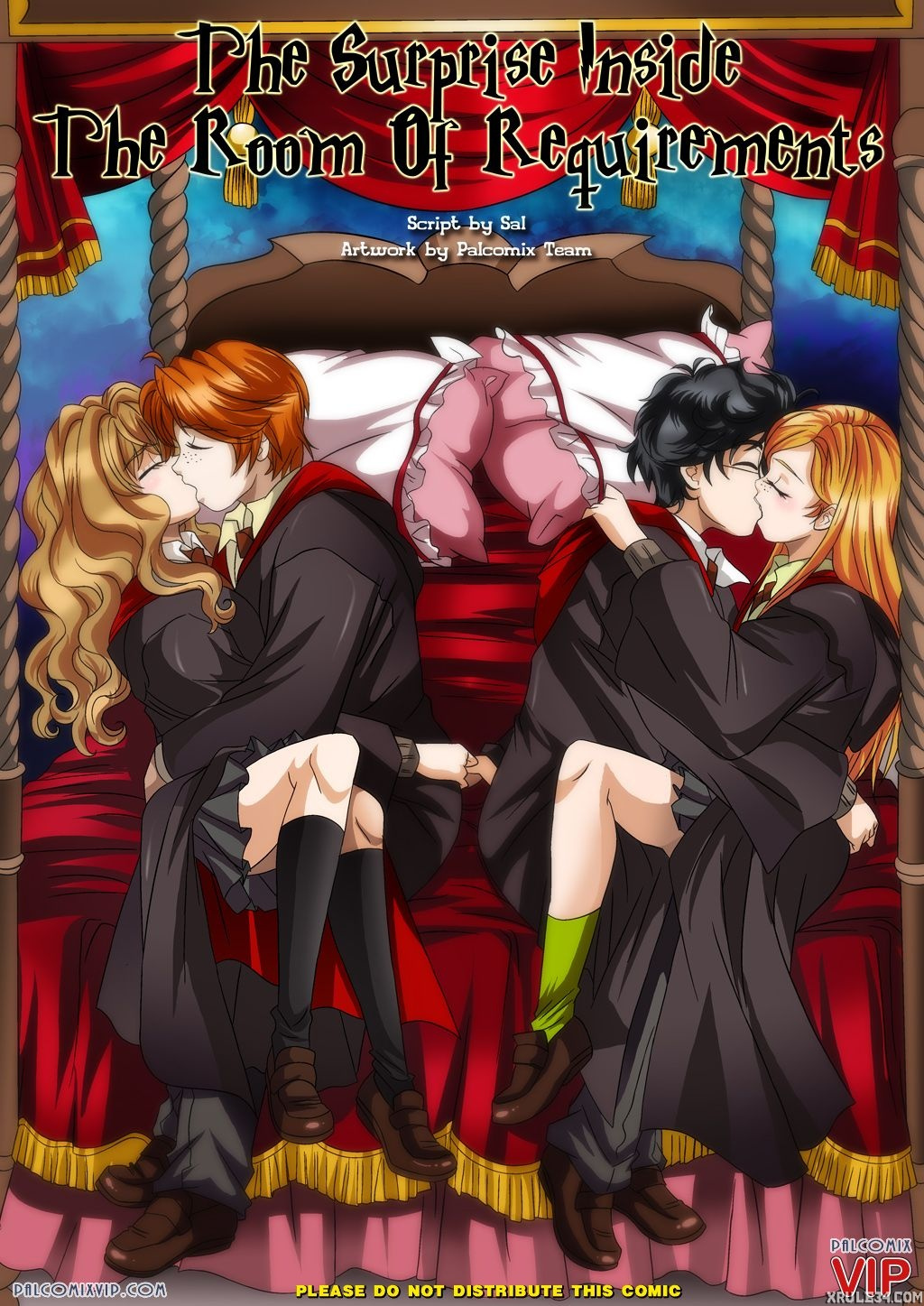 Porn comic favorite harry potter comics with hermione granger photo 2
