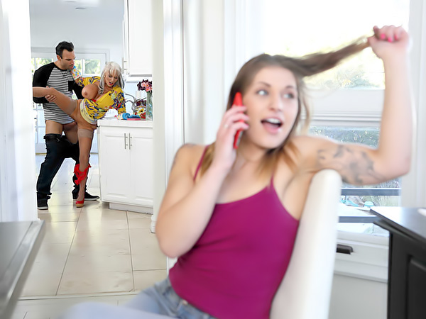 Mom watches daughter porn photo 2