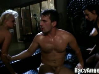 Deepthroat and anal compilation evil angel photo 2