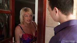 Dirty blonde gets it doggystyle porn video tube photo 2