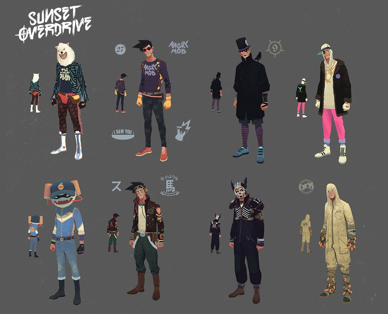 Sunset overdrive character creation and customization