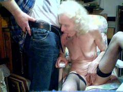 Russian couple loving foreplay
