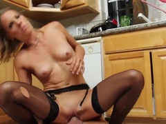 Fat and horny granny banged in the ass XXX