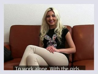 Tiny tits blonde teen anal casting anal blonde casting russian