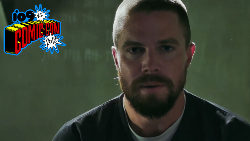Arrow at comic con season trailer offers first photo 2