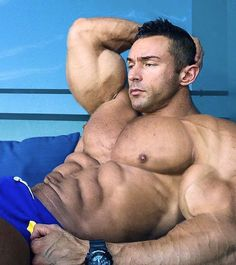 Big roger muscle worship fantasy mymusclevideo photo 2