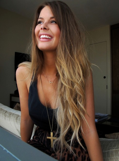 Pretty blonde haired girl tumblr photo 4