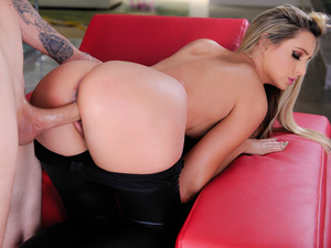 Blonde pornstar hottie xana star fucking hard in all holes